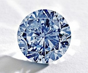 Sotheby's expects at least $19m for this rare blue diamond