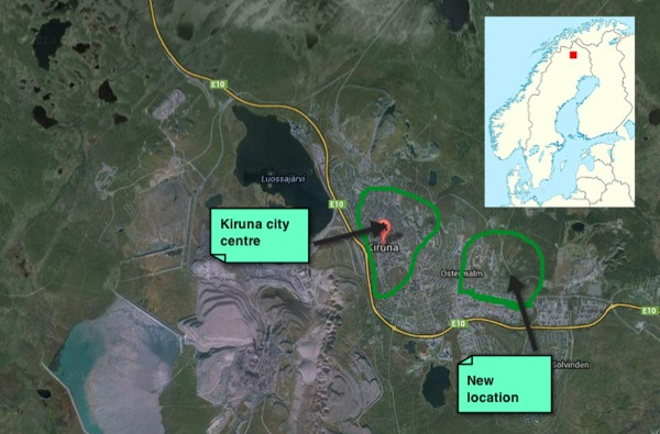 Mining forces entire Swedish city to move 3 km