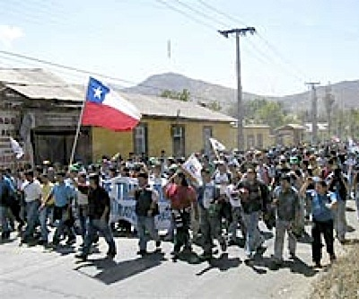 No end in sight for Chile's Codelco copper mine strike