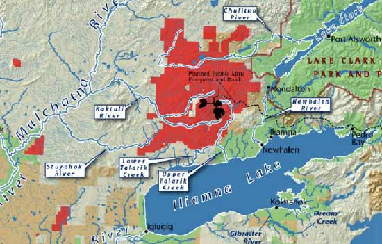 Anglo American abandons Alaskan copper project Pebble