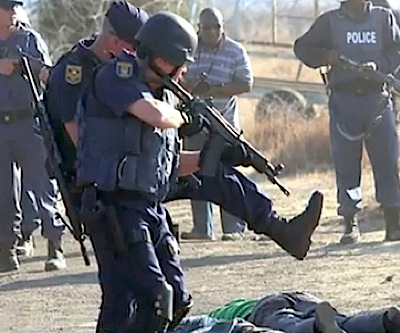 South African ex-union official shot dead in Marikana