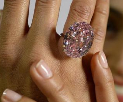 This $60 million diamond is called the 'Pink Star' for a reason