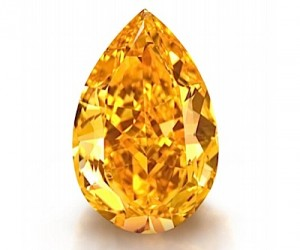 Largest orange diamond expected to fetch $20 million at Christie's auction