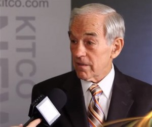 Ron Paul with Kitco