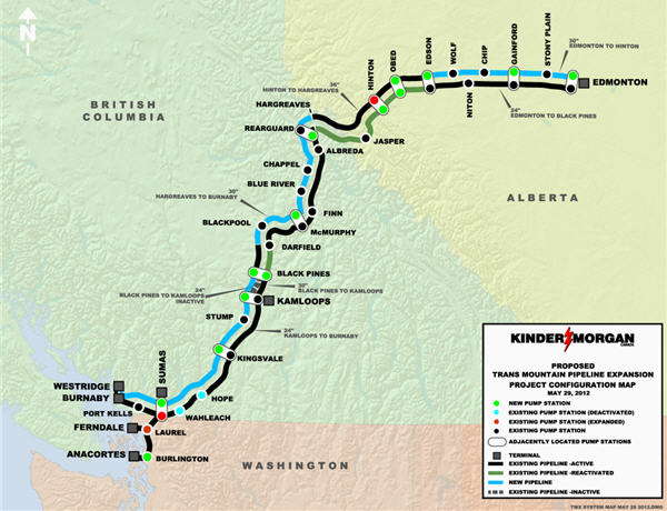 Kinder Morgan, Trans Mountain expansion plan