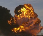 Dramatic video: Train with oil bursts into flames in North Dakota