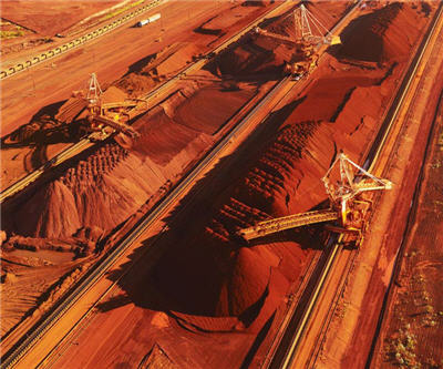Iron ore price is collapsing