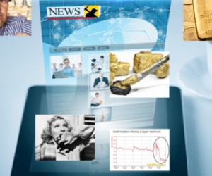 Midas touch bacteria, gold roller coaster and risky countries among top stories of 2013