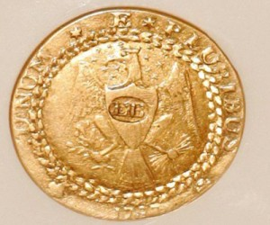 Historic 1oz gold coin goes for $4.6 million at auction