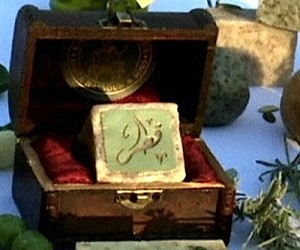 Gold-diamond soap with 'special psychological and spiritual' powers for only $2,800