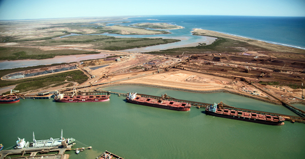 World's largest iron ore port reopens after cyclone