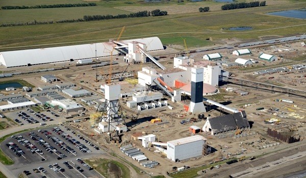 Canadian potash miners trapped underground rescued unharmed