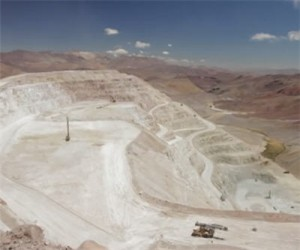 Workers strike at Kinross' Maricunga mine in Chile