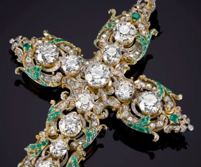 Diamond jewels owned by Pope Paul VI going for $1.9 million