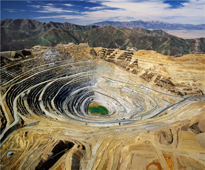 Value of US mineral production decreased in 2013