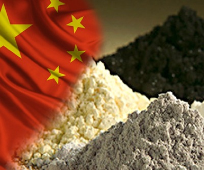 China's stake in rare earths market shrinking