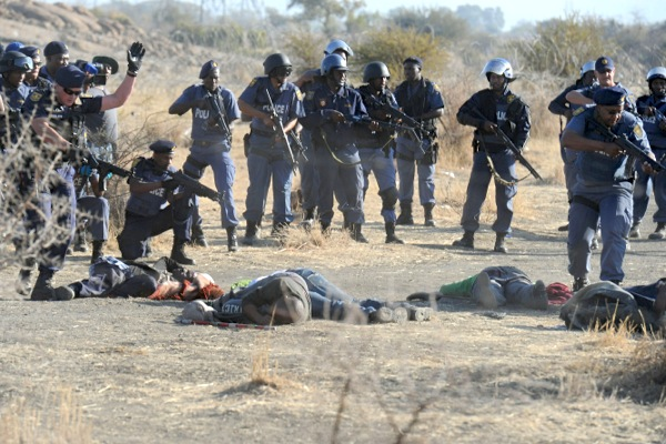 South African police shot Marikana miners as they fled: lawyer