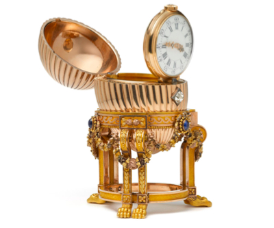 This $33.3 million Faberge golden egg was minutes away from being melted as scrap