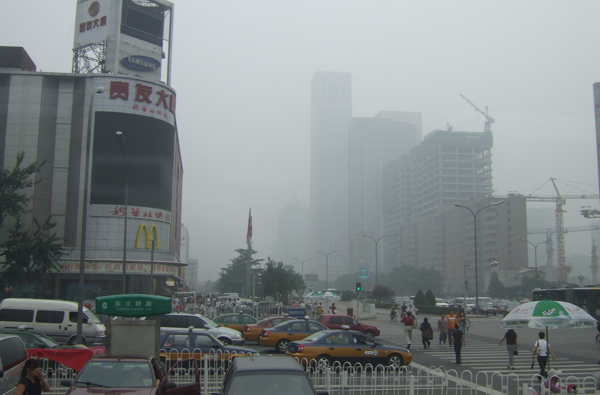 Chinese most clever way to deal with smog: turn it into diamonds