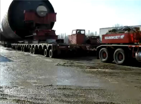 heavy haulage 600 fort mccmuarry oil sands two