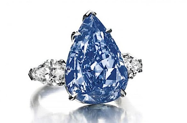 Christie's expects $25 million for largest, flawless blue diamond