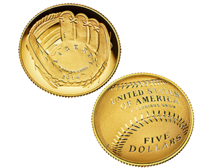 US Mint 'curved' commemorative gold coins sold out