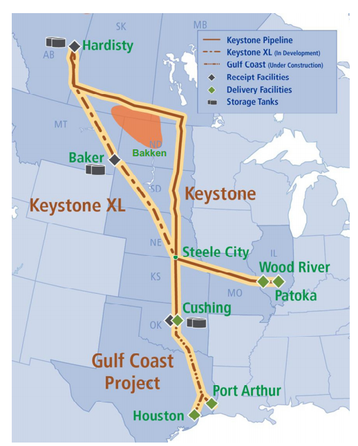 keystone pipeline project Donald trump has officially signed off on executive actions to advance construction on the keystone xl pipeline, jan 24, a project that has been heavily.