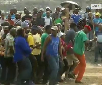 Striking Implats miners to vote on wages
