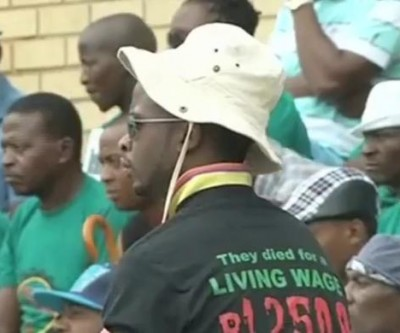 Wage talk with AMCU going nowhere in South Africa