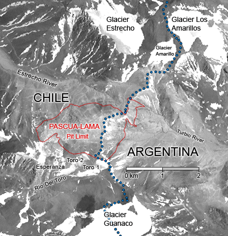 Barrick sees light at end of tunnel for Pascua Lama, signs initial deal with locals