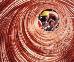 Huge rally in copper price