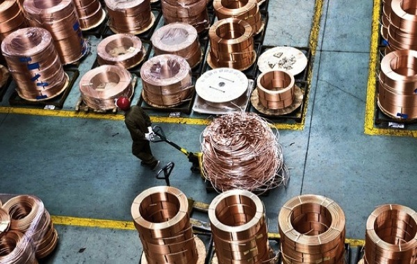 Copper near 12-week high on hopes of Chinese stimulus