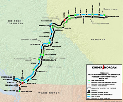 """There can be """"economic benefits"""" from oil spills — Kinder Morgan"""