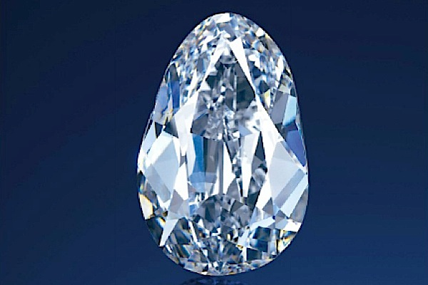 Largest Golconda diamond goes under Christie's hammer in Hong Kong