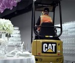 A bull in a china shop can be dangerous; this excavator isn't