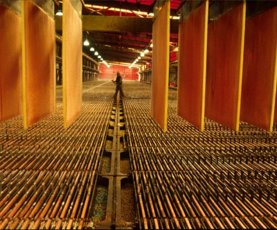 Copper price: Plunge in China imports wipes out 2017 gains