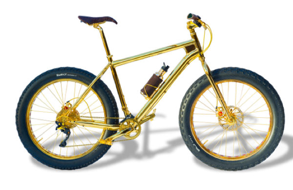 24k gold mountain bike on sale for 'only' $1 million