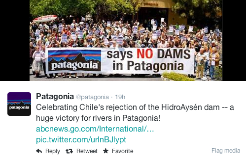 Chile says no to $8bn hydroelectric project in Patagonia
