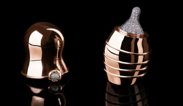 World's most expensive baby bottle — made of gold and diamonds