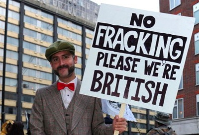 Half the UK now open up for fracking