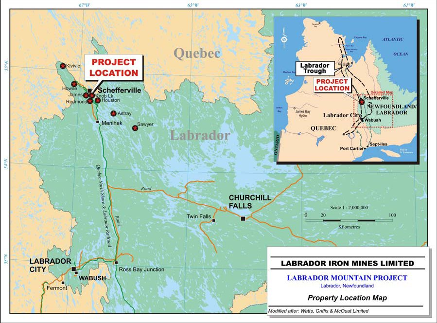 Labrador Iron Mines halts operations on weak ore prices, high costs