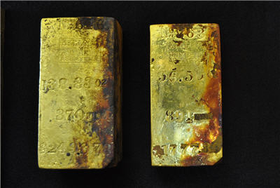 Ohio firm granted rights to shipwreck's gold worth up to $80m