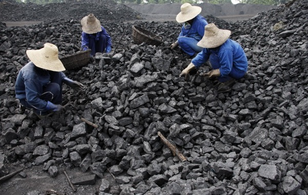 Slow growth spoiling China's appetite for coal