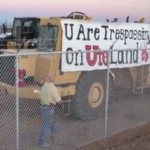 Only US oil sands mine hit by protests