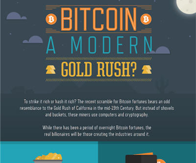INFOGRAPHIC Bitcoin A Modern Gold Rush