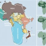Africa is bigger then you think