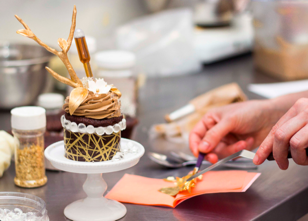 Canada's most expensive cupcake is topped with gold, diamond sprinkles