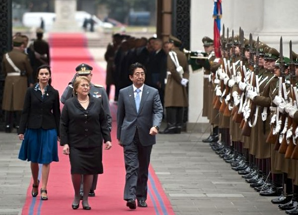 Japan, Chile sign mining deals