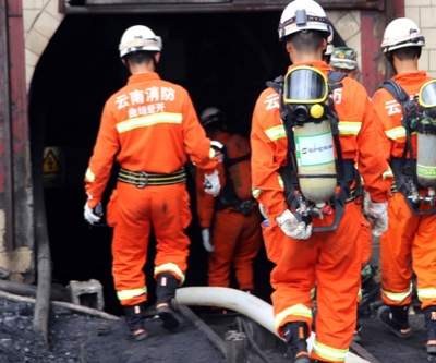 China coal mine explosion traps 29 workers