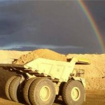 PIC OF THE DAY: A dump truck at the end of the rainbow